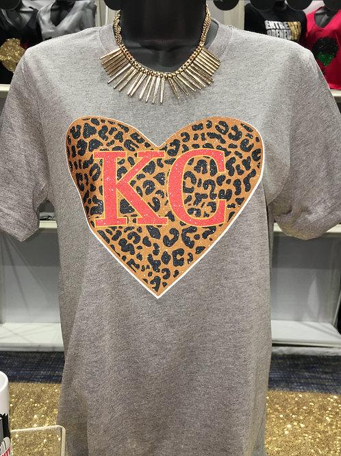 KC Leopard - Red
