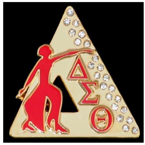 Delta Sigma Theta Founding Jeweles Lapel Pin - Gold