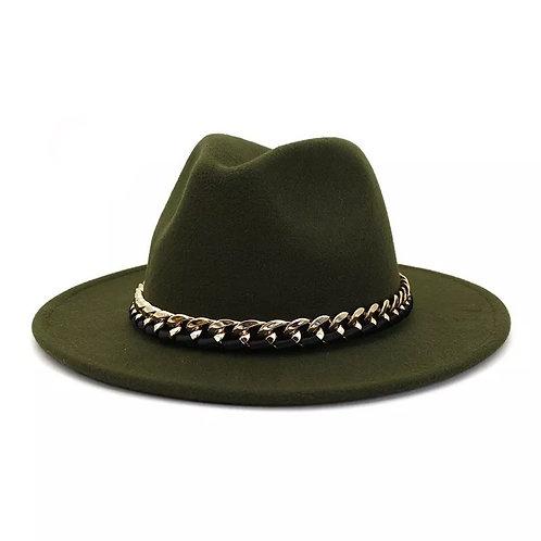 Fedora - Army Green