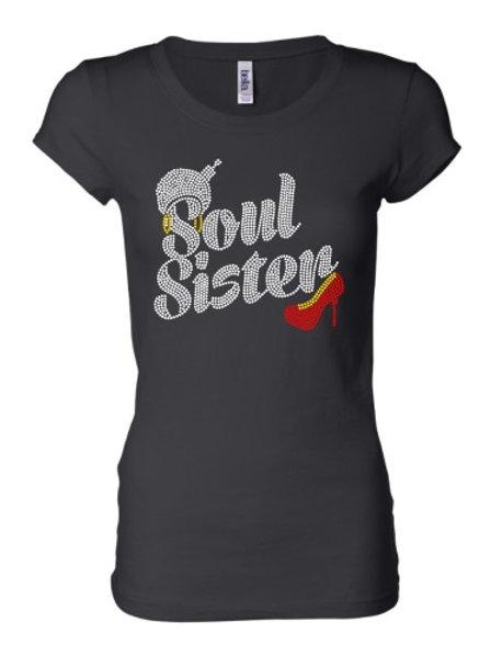 Soul Sister Rhinestones - Black