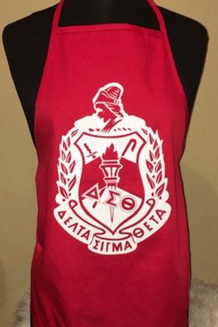 Delta Sigma Theta Shield Apron
