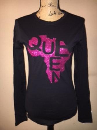 Queen Hot Pink - Multiple Shirt Options