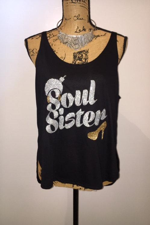 Soul Sister Glitter - Black