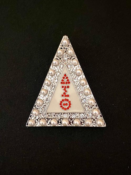 Delta Sigma Theta Pyramid Pearl Pin