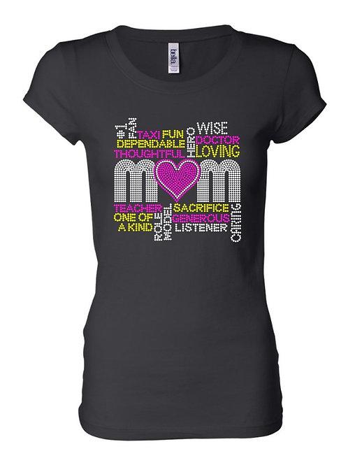Mom Terms Rhinestone Shirt