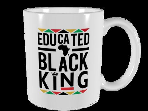 Educated Black King Mug