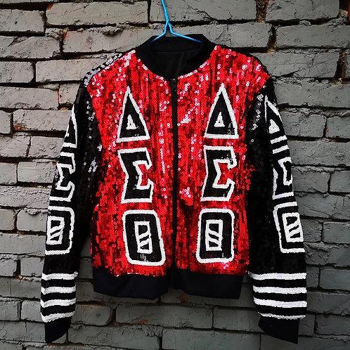 Delta Sigma Theta Sequin Jacket