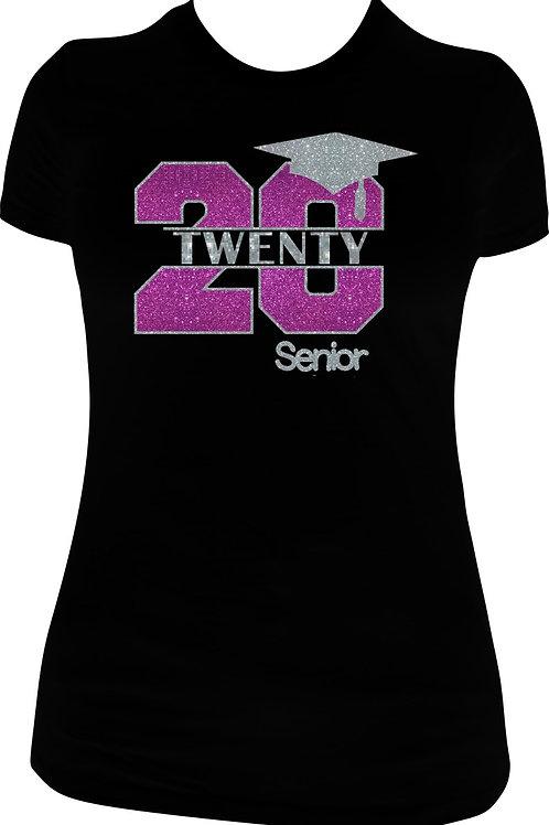 2020 Senior Glitter Tee