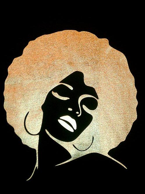 AfroChick - Metallic