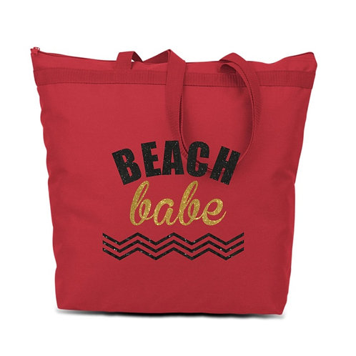 Beach Babe Tote - Red