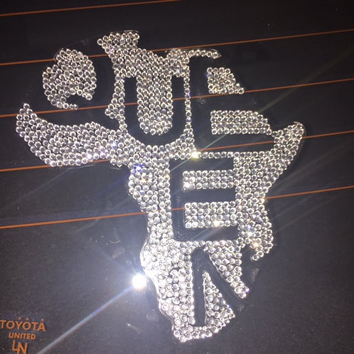 Queen Rhinestone Decal