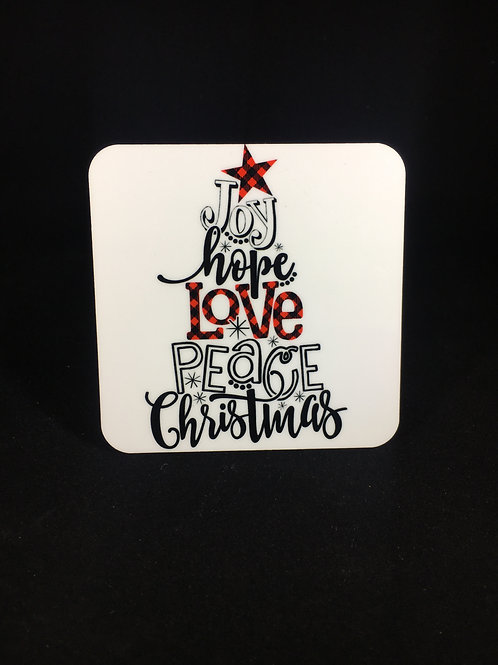 Christmas Coaster Sets