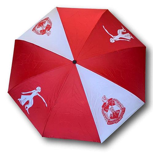 Delta Sigma Theta Inverted Umbrella