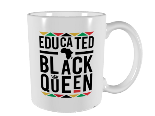 Educated Black Queen Mug