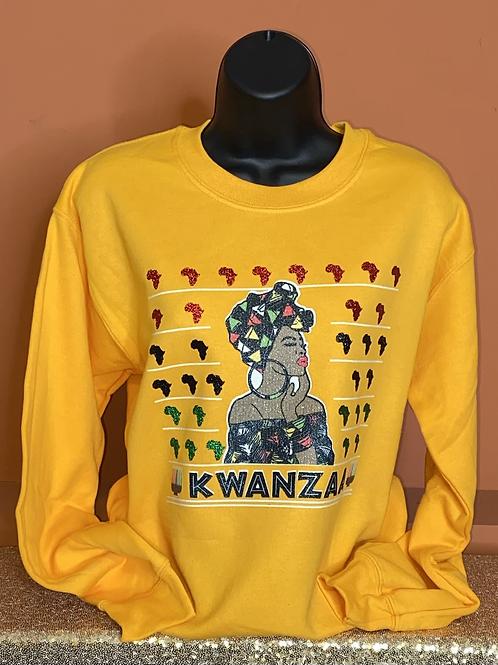 Kwanzaa Queen Sweatshirt