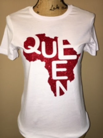 Queen Red - Multiple Shirt Colors
