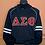 Thumbnail: Delta Sigma Theta Chenille Hooded Sweatshirt