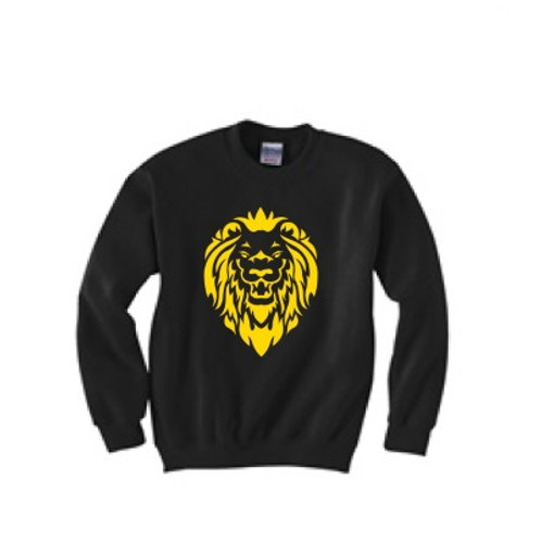 Lion Sweatshirt - Metallic Gold