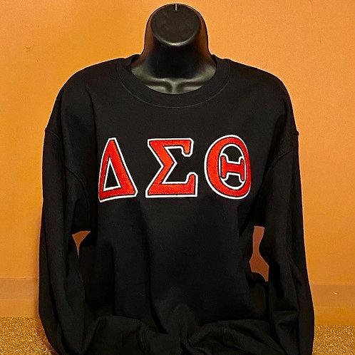 Delta Sigma Theta Chenille Sweatshirt