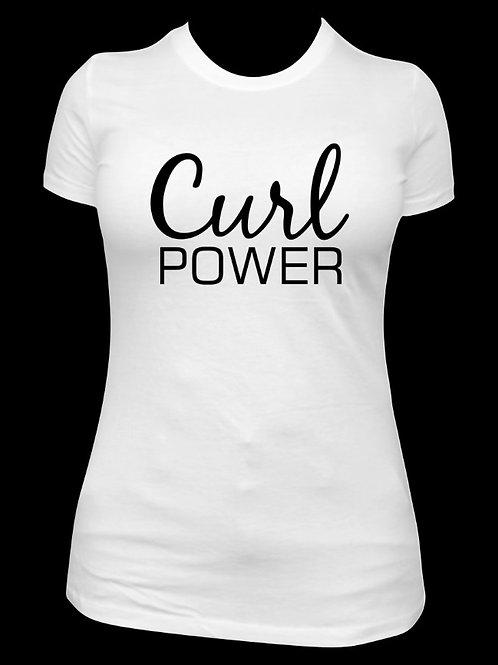 Curl Power - White
