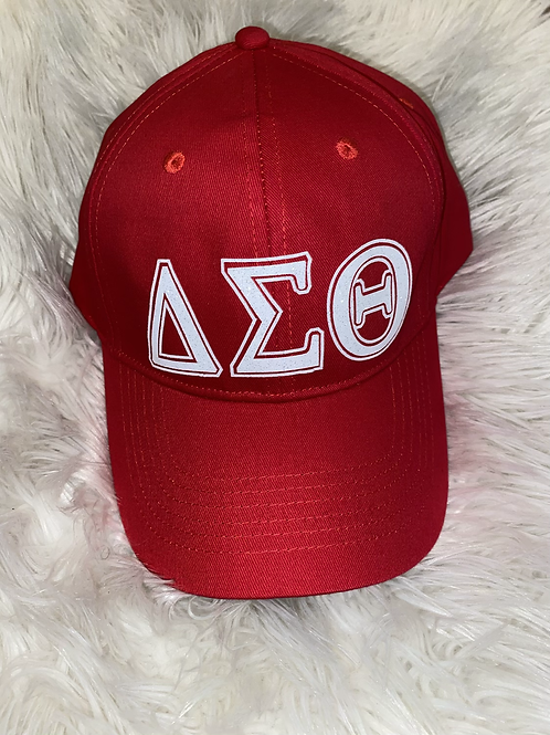 Delta Sigma Theta Dad Hat - Red