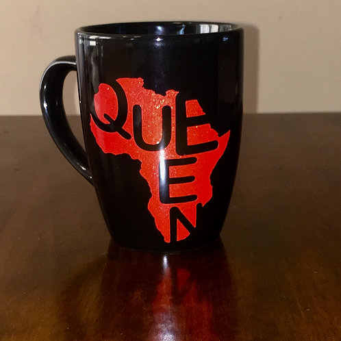 Queen Coffee Mug - Red