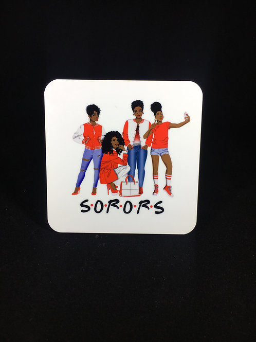 Soror Inspired Coaster Set