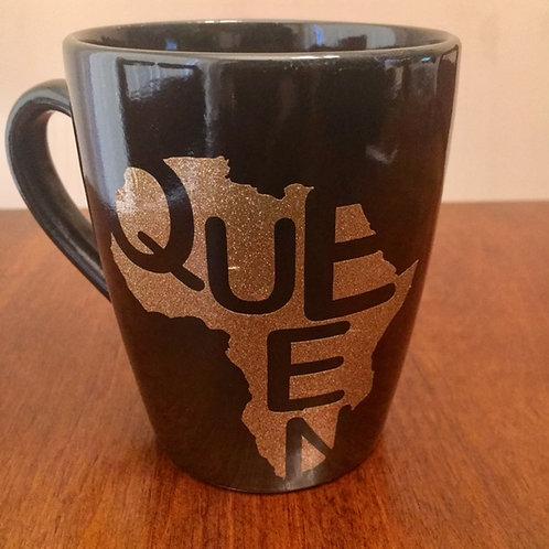 Queen Coffee Mug - Gold