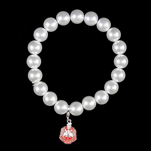 Delta Sigma Theta Pearl Bracelet