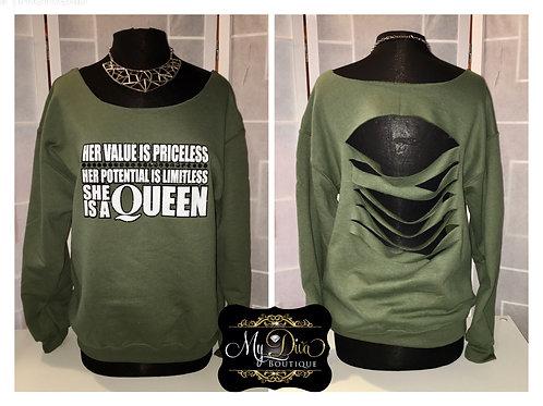 Priceless Queen Sweatshirt