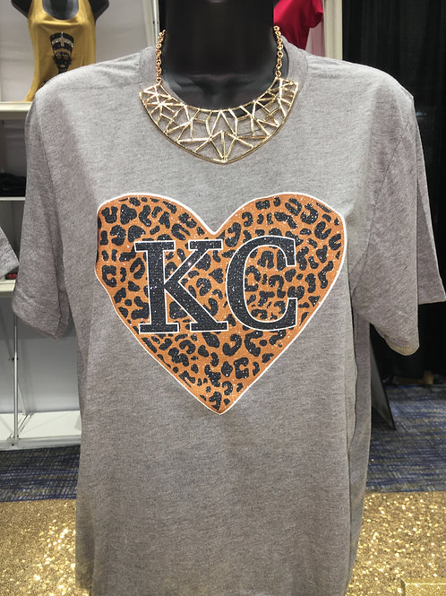 KC Leopard - Black