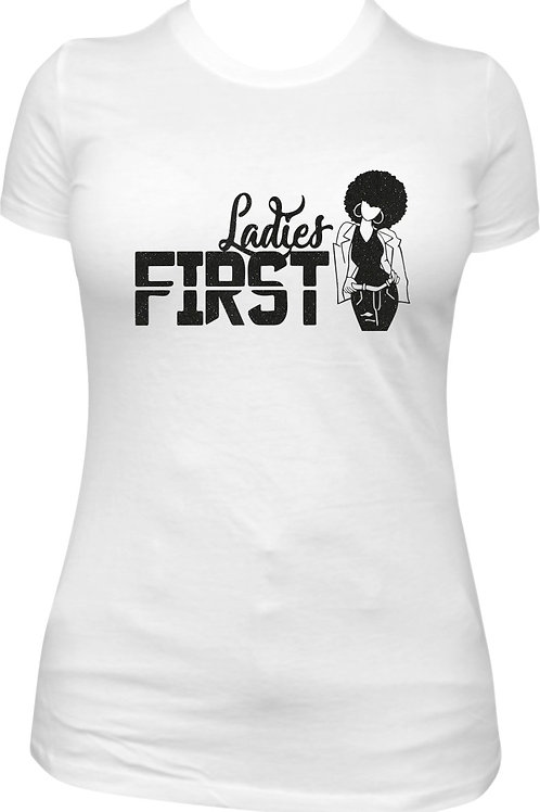 Ladies First - White