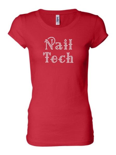 Nail Tech - Red
