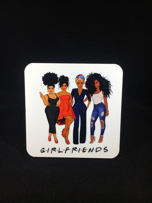 Girlfriends Coaster Set