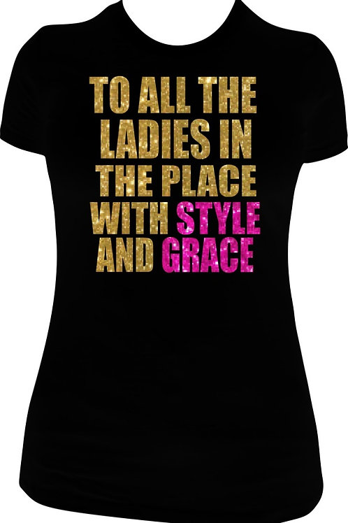 Style and Grace - Gold / Pink