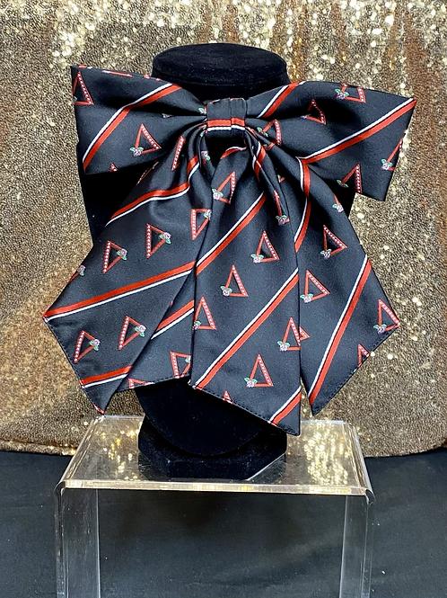 Delta Sigma Theta Pyramid Bow Tie