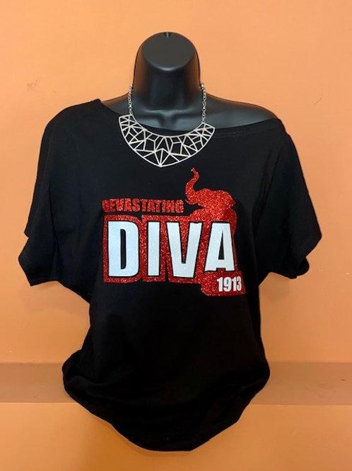 Devastating Diva - Off the Shoulder