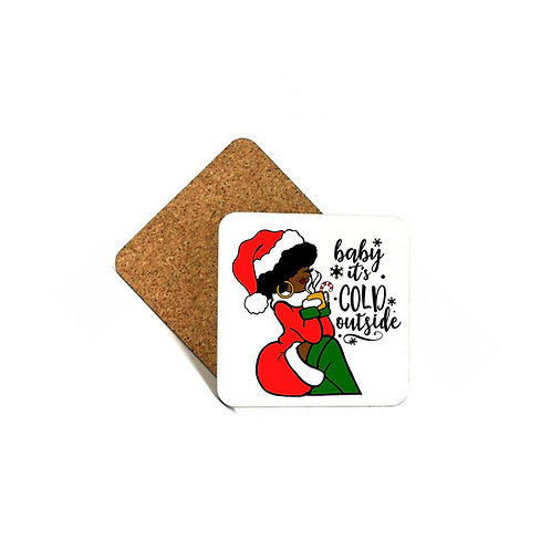 Baby It's Cold Outside - Coaster Set