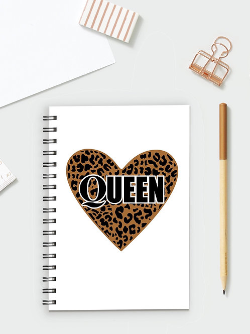 Leopard Queen Notebook