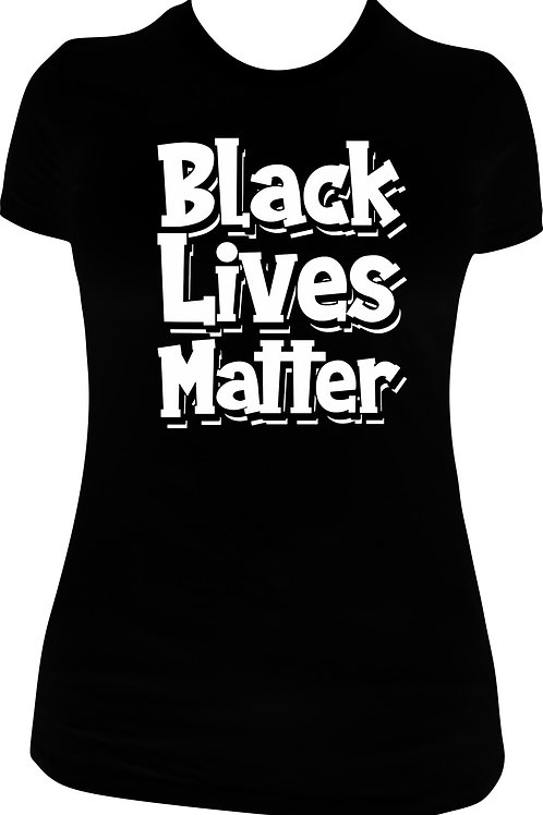 Black Lives Matter Glitter Tee