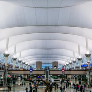 Denver International Airport Great Hall