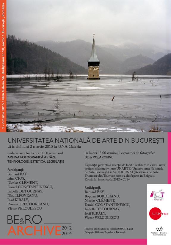 Bientôt une expo collective à Bucarest… avec mes coéquipiers roumains et belges du projet !!