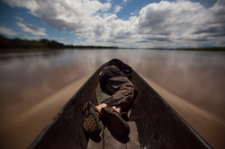 Moonlit Canoe ride