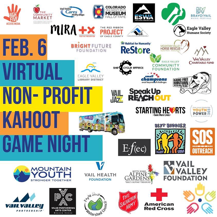 FREE Virtual Non- Profit Kahoot Game Night