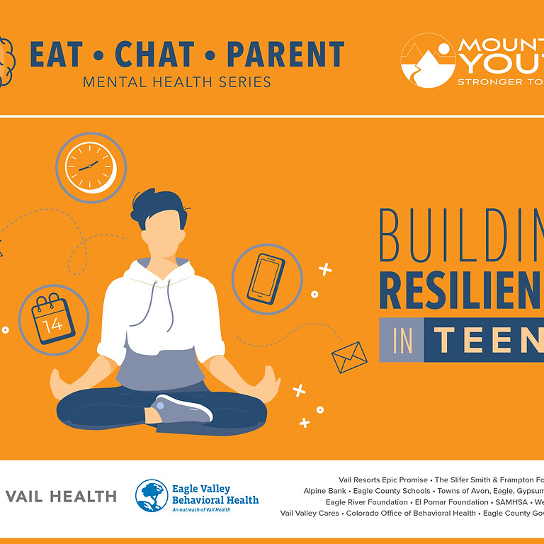 Building Resilience in Teens Oct 20th