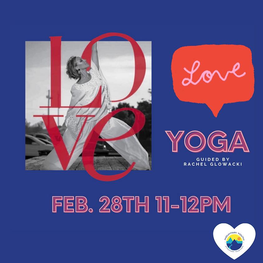 FREE Virtual Love Yoga Class with Rachel Glowacki
