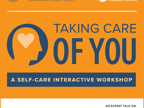 Self-care takes center stage at October's Eat Chat Parent