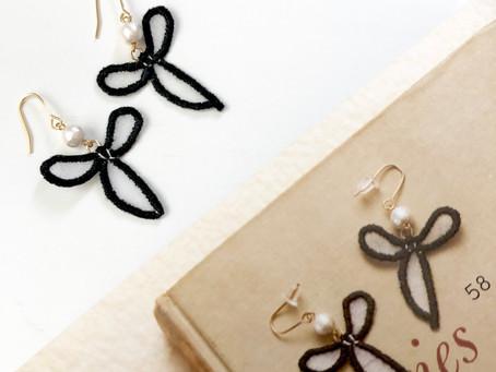 オーガンジー刺繍のワークショップ