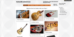 GuitarBranded.Com Info and Retail Sales