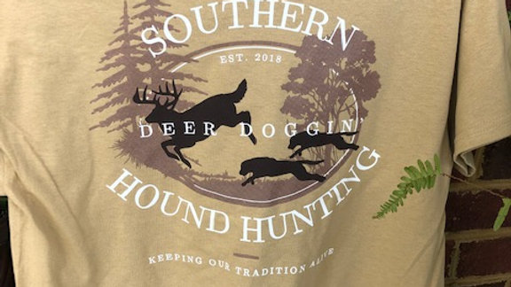 Deer Doggin' Shirt Dark Khaki